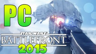 "Star Wars: ""Battlefront PC Gameplay"" - ""E3 2015"" Hoth Gameplay!"