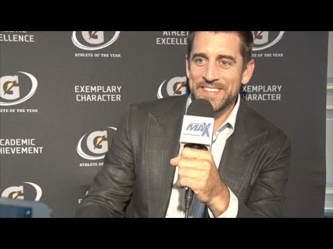 Candid interview with NFL MVP Aaron Rodgers