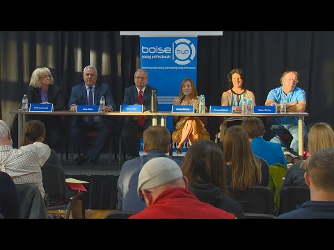 Boise Mayoral Candidates Answer Questions At A Public Forum