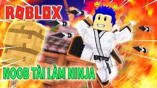 -Roblox World Created Hero NOOB Member Do Ninja-Ninja Zone!