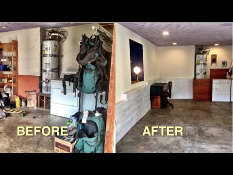 Post konmari basement tour before after youtube for Minimalism before and after