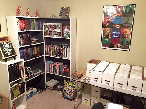 COMIC BOOK ROOM TOUR | 2015 Update