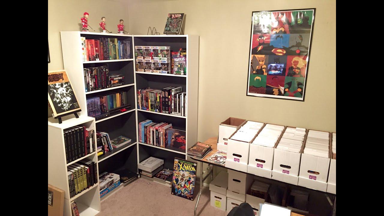 Comic Book Storage Cabinets