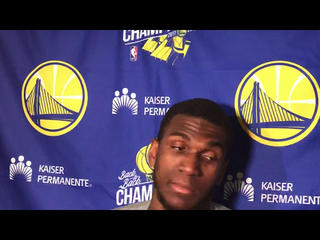 Golden State Warriors Center Kevon Looney Postgame Interview — 12/3/18