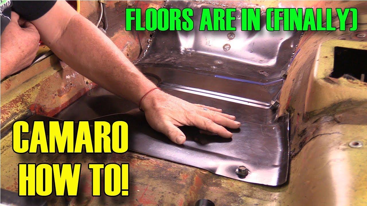 How To Rust Repair Floor Pan 1970 Camaro Episode 436 Autorestomod Youtube