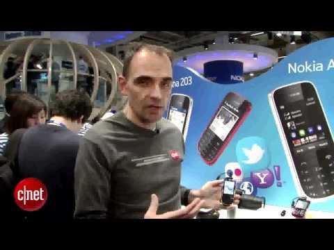 Nokia Asha 202 and 203