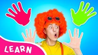 How many fingers   LA LA LEARN KIDS SONGS   D Billions Parody