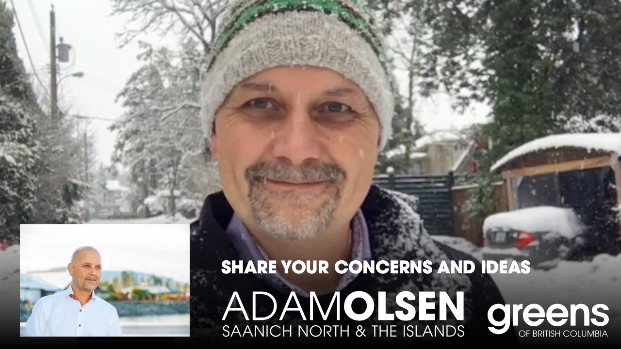Adam Olsen: Ask me a question, share your concerns and ...