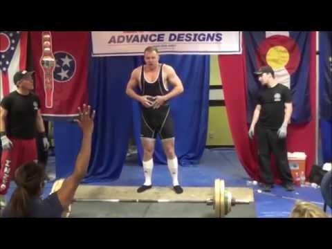 Mike Rhea - 2015 NASA Natural Nationals Powerlifting Meet
