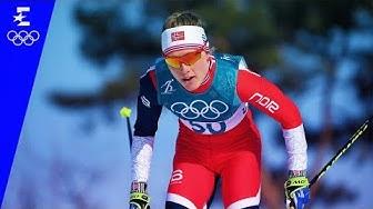 Cross-Country Skiing   Ladies' 10km Free Highlights   Pyeongchang 2018   Eurosport