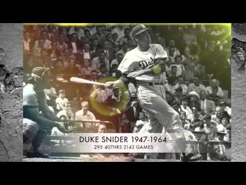 HISTORY OF MAJOR LEAGUE BASEBALL DURING THE 1950'S WITH 50'S ROCK 'N' ROLL