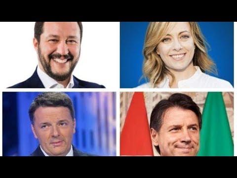 Sondaggio EMG Intenzioni di voto del 22 febbraio 2020 per Agora' Rai3