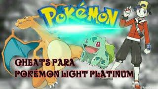 Cheats para pokémon Light platinum