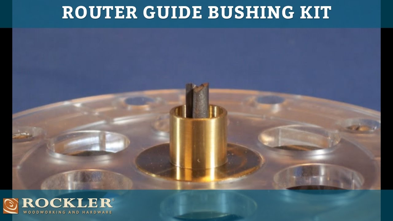Bosch 8-Piece Router Template Guide Set RA1128 - - Amazon.com