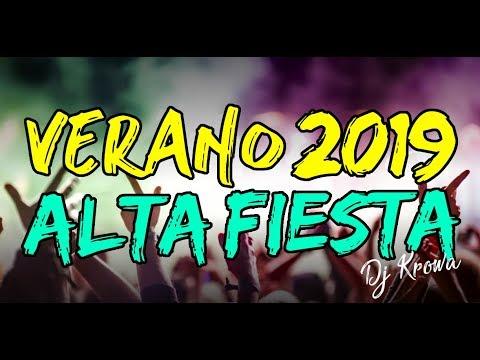 🔥 VERANO 2019 ✘ ALTA FIESTA 💣 BOLICHERO MIX 👉 REGGAETON Y CUMBIA ★ MEGA EXPLOTADO ✘ DJ KROWA