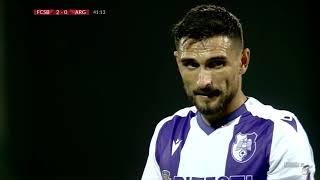 REZUMAT: One MAN Show. FCSB - FC Argeş, 3-0. Hattrick pentru Dennis Man