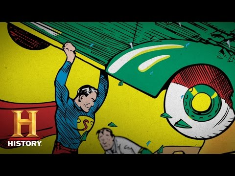 Superheroes Decoded: Inside the DC Comics Library Archives Season 1, Episode 2  History