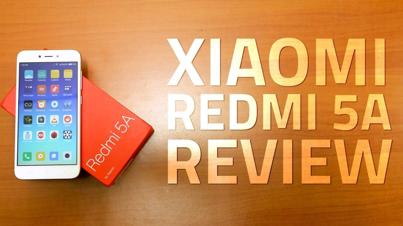 8926b02bacb1 Xiaomi Redmi 5A Review