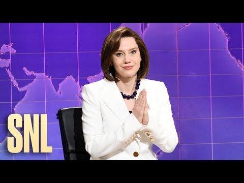 Weekend Update: Nancy Pelosi Prays for Donald Trump - SNL