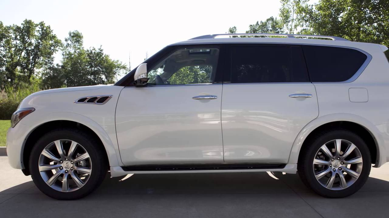 2015 Infiniti QX80 - Remote Engine Start (if so equipped ...