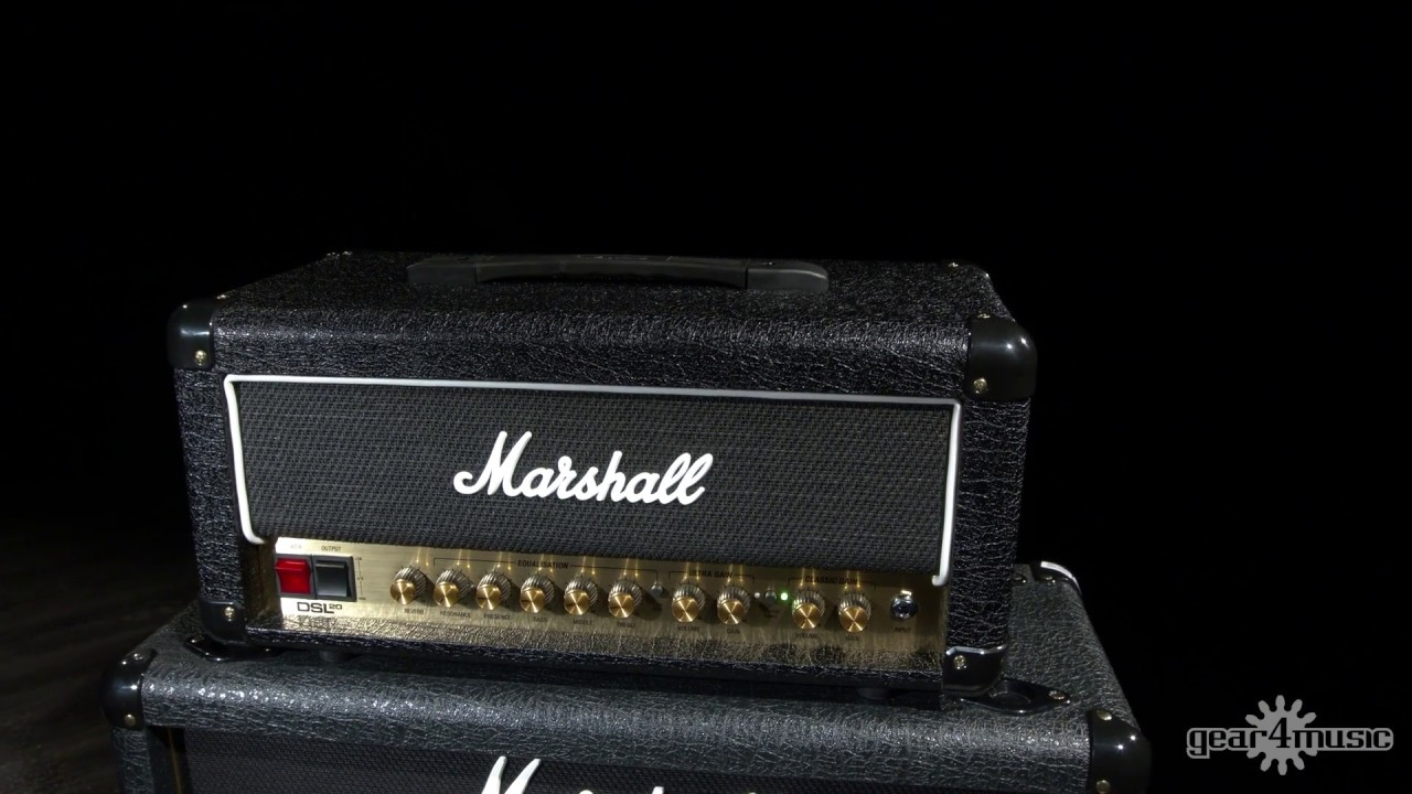 Marshall Dsl20hr 20w Valve Head With Reverb Youtube Power Tube Amplifier El34