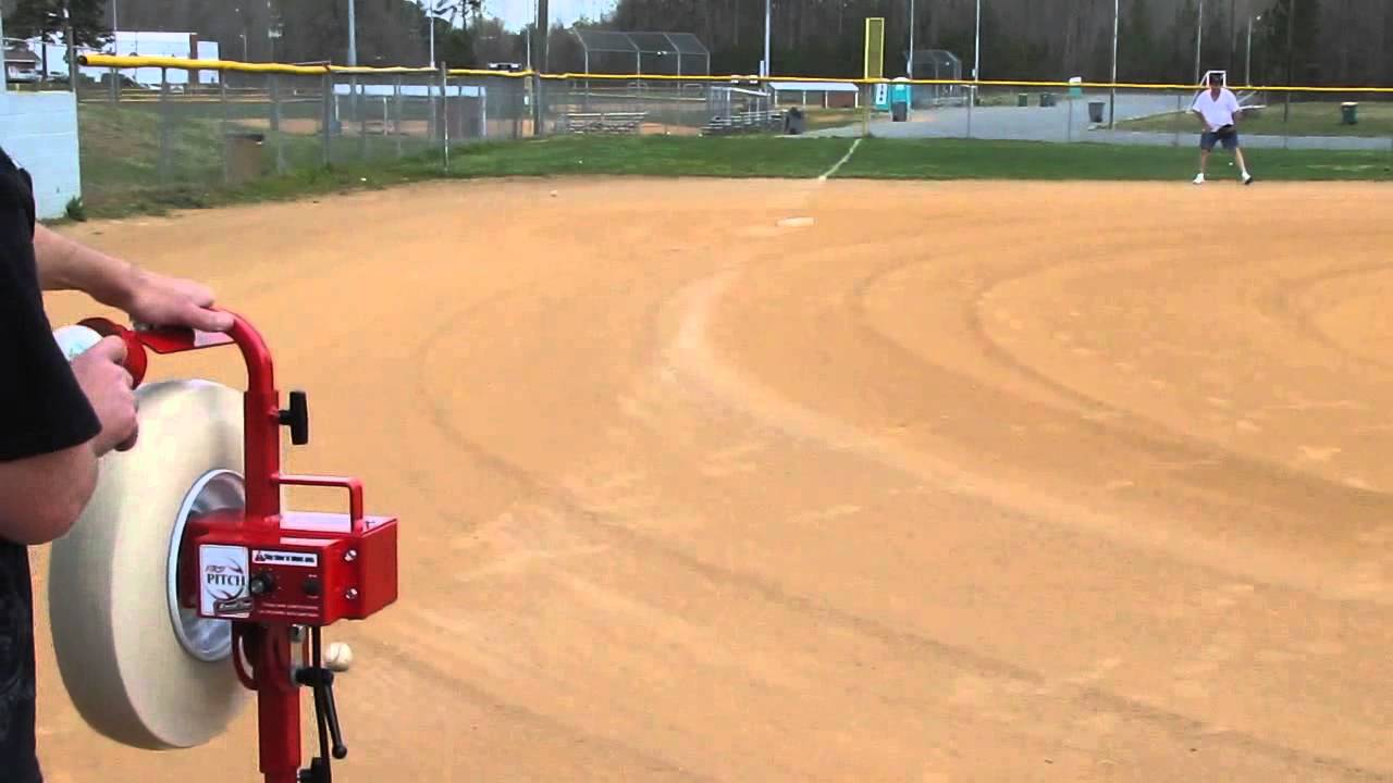 top rated pitching machine youtube
