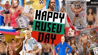 RUSEV & LANA - Every WWE Mattel Action Figure