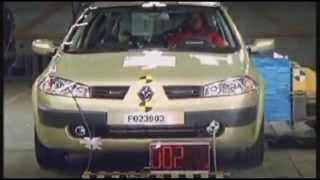 Crash test Renault Megane 2002