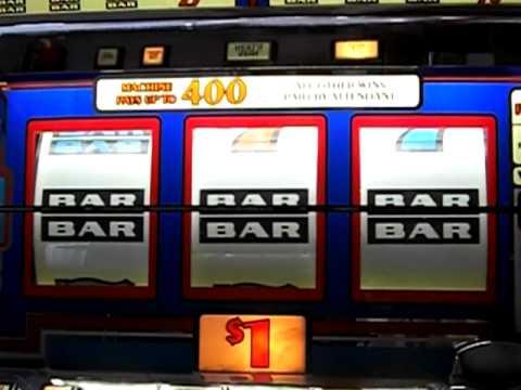 Slot machine bars