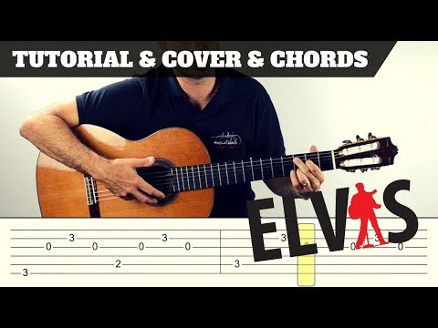 How to play Suspicious Minds | Elvis Presley IFREE PDF | EASY Tutorial CHORDS