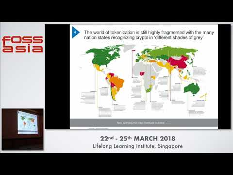 Blockchain and the emerging token economy - Floyd DCosta - FOSSASIA 2018