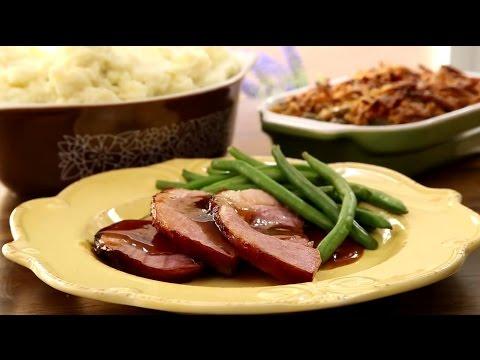 How To Make Honey Glazed Ham | Ham Recipes | Allrecipes.com