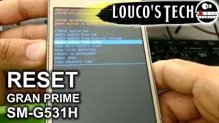 Reset de fábrica, formatação Samsung Gran Prime Duos - FORMA SEGURA | Louco's Tech