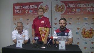 Znicz Pruszków - SKRA Częstochowa (pomeczowa konferencja)