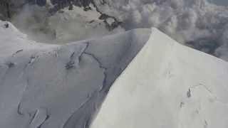 360° sur le Mont-Blanc en hélico