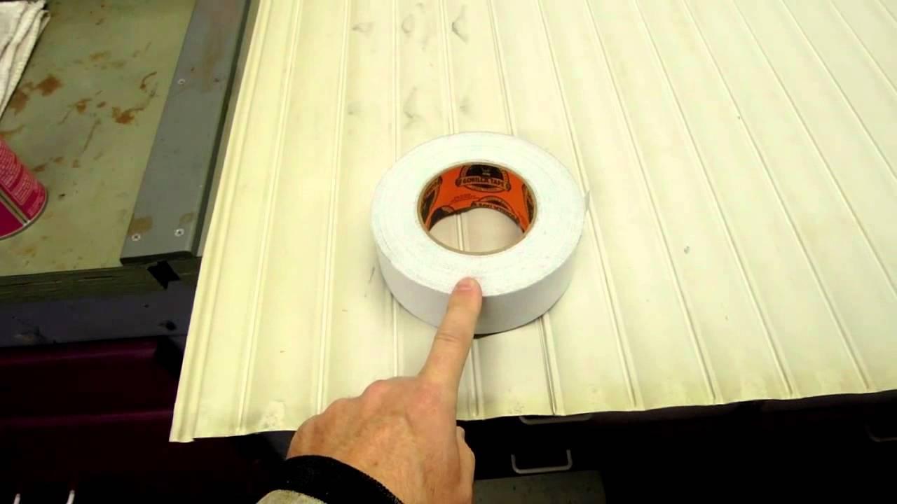 Wonderful Plastic Storage Cabinet Tambour Door Repair Using Gorilla Brand Duct Tape    YouTube