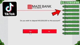 Testing Viral TikTok GTA 5 Online Money Glitch Websites! (Part 2)