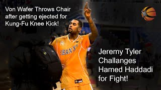 Von Wafer Kung-Fu Knee and Chair throw | Jeremy Tyler challenges Hamed Haddadi to Fight!