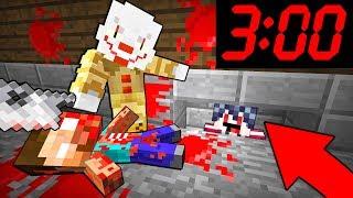 НИКОГДА НЕ Заходите в Майнкрафт в 300 ЧАСА НОЧИ - Троллинг Прятки Нуб против Про Клоун Убийца