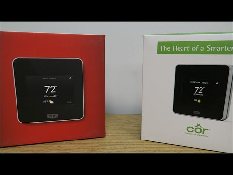 cor wifi thermostat wiring diagram cor housewise smart thermostat install   startup  1 of 3  youtube  cor housewise smart thermostat install