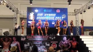 Video WOMEN FITNES MODEL Mr.HYBRID INDONESIA 2017 3rd Place download MP3, 3GP, MP4, WEBM, AVI, FLV Mei 2018