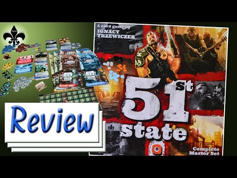 51st State Master Set Review engl. Version Portal Games Neuheit 2016 GER