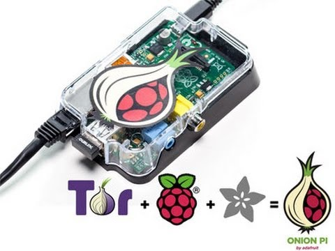 Turning the Raspberry Pi into a onion router.