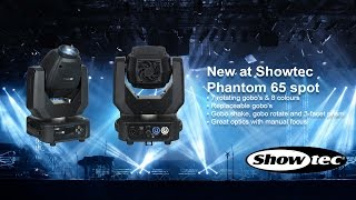 Now on Stock! Showtec Phantom 65 Spot. Productcode: 40070.