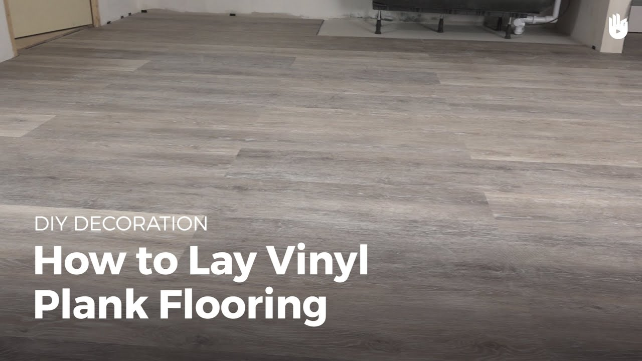 how to lay vinyl flooring | diy projects - youtube