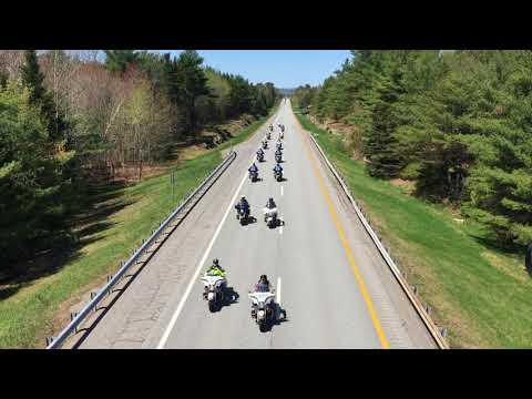 Funeral procession for Cpl. Eugene Cole