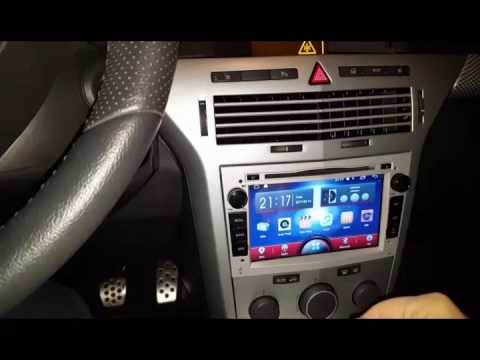 a sure android radio opel astra h 2006 tdi youtube. Black Bedroom Furniture Sets. Home Design Ideas
