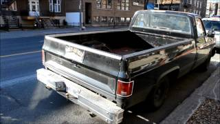 COOL 80s CHEVY PICKUP TRUCK SIGHTING