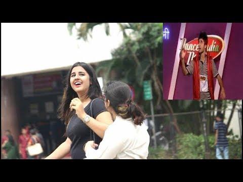 RAGHAV SLOW MOTION DANCE PRANK ON CUTE GIRLS (EPIC REACTION)