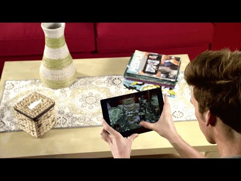 Augmented Reality Tutorial No. 26: Unity3D and Vuforia for Dinosaur Control with Arrow Keys